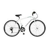 """Viking Portobello 22"""" Mens' Bike, White"""