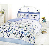 Rapport Art Flutter  Duvet Cover Set - - Blue