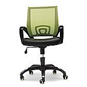 Hispanohogar Office Armchair - Green