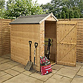 6ft x 4ft Windowless Tongue & Groove Apex Shed