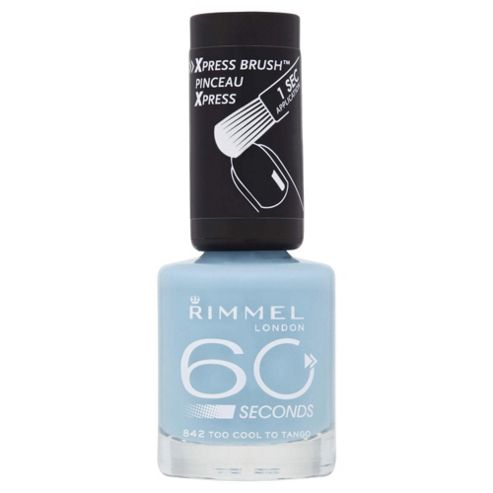Rimmel London 60 Seconds Nail Polish 842 Too Cool To Tango