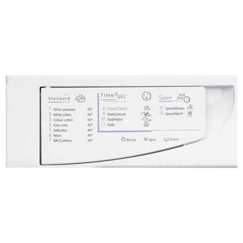 Indesit IWME147, 7Kg Load, 1400 Rpm spin, A+ Energy Rating, White