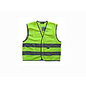 WOWOW 3M Childs Small Reflective Yellow Tabard 5/7yrs