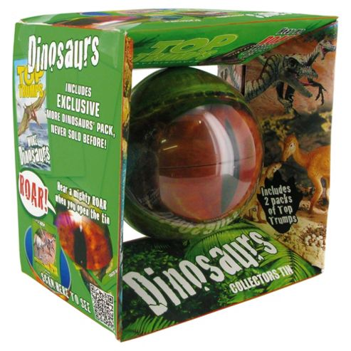 Top Trumps Collectors Tin Dinosaurs