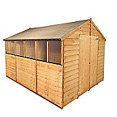 BillyOh 20 10 x 8 Rustic Overlap Apex Shed