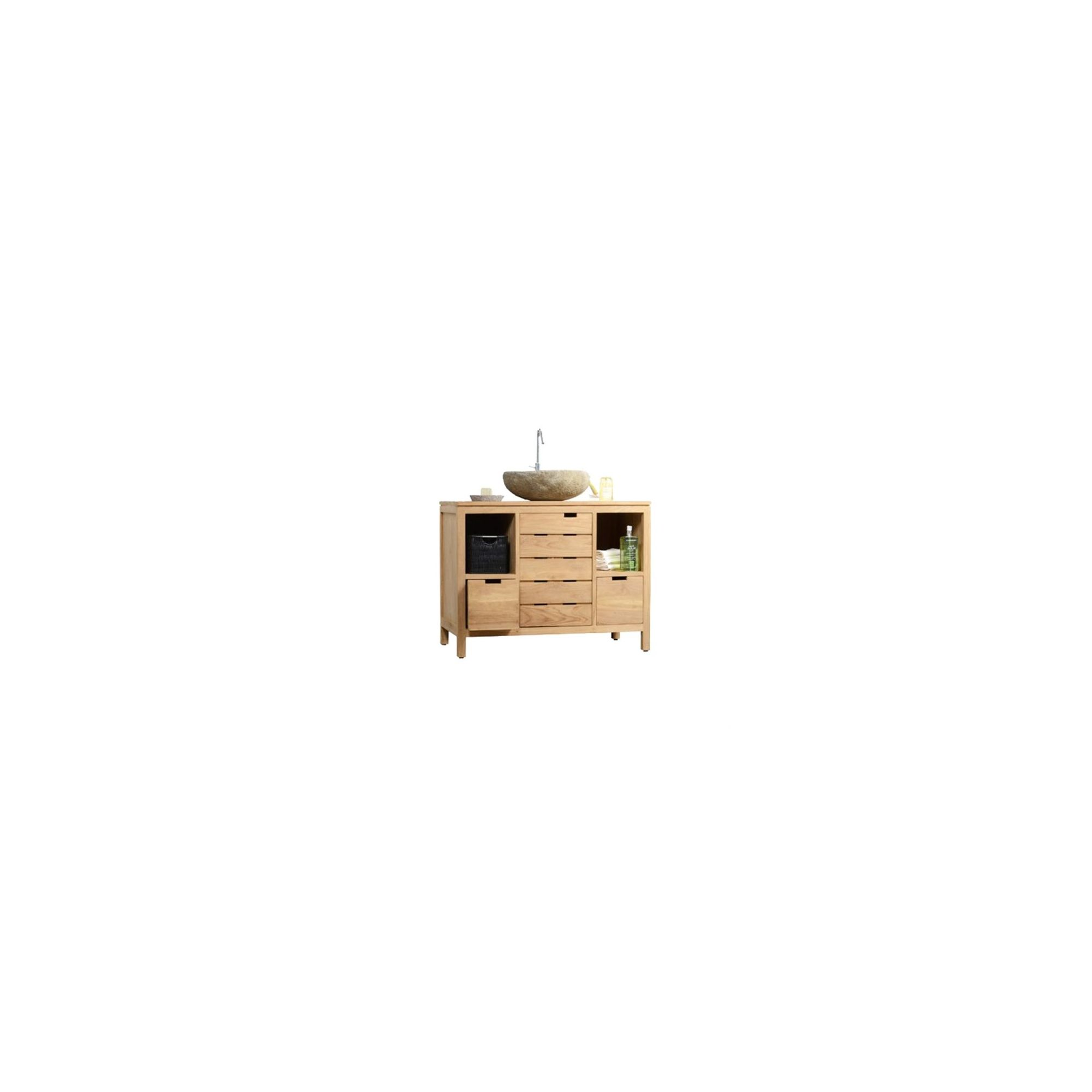 Tikamoon Serena Solo Teak Vanity Cabinet at Tesco Direct