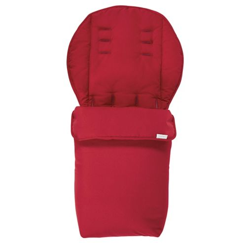 Mamas & Papas 2 in 1 Footmuff, Red