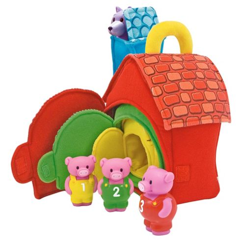 Melissa and Doug Three Little Pigs Playset