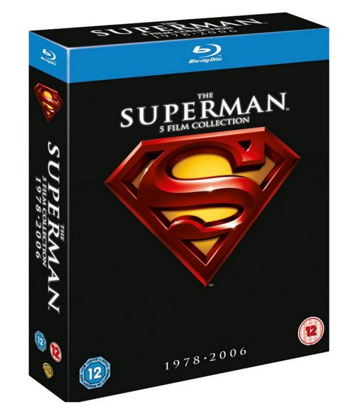 Superman Collection I-V (5 Discs) (Superman 1 - 4 + Superman Returns) (Blu-Ray Boxset)