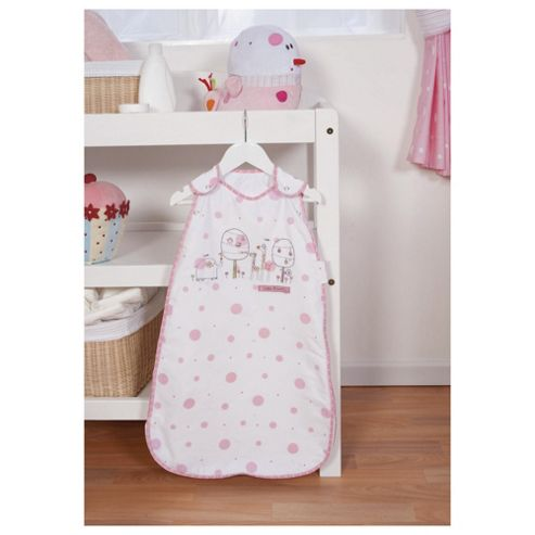 Red Kite Sleeping Bag, 0-6 Months, Pink Hello Ernest
