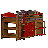 Maximus Mid Sleeper Set 1 Antique With Red Details