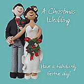 Holy Mackerel A Christmas Wedding, Have a Fabulously Festive Day Greetings Card