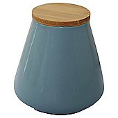 Retro Storage Canister, Blue, Medium