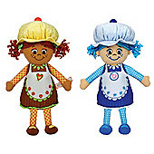 "Little Miss Muffin 9"" Duo Pack Little Miss Blueberry And Little Miss Coconut"