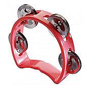 A-Star Mini Tambourine - Red