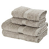 Christy 4 Piece Towel Bale Pebble