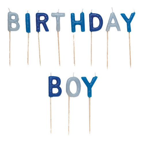 Birthday Boy Pick Candles