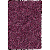 Mastercraft Rugs Twilight Raspberry Shaggy Rug - Runner 65cm x 130cm (2 ft 1 in x 4 ft 3 in)