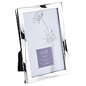 """Tesco Twisted Silver Plated Photo Frame 4 x 6"""""""