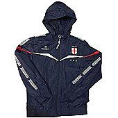 Respect England Kids Football Rain Jackets - Navy