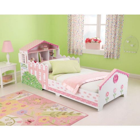 Buy KidKraft Dollhouse Toddler Bed from our Toddler Beds ...