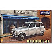 Tamiya E25002 Renault 4 L 1:24 Ebbro 25002 Car Model Kit