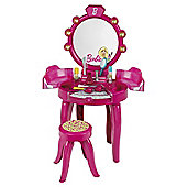 Barbie beauty studio vanity table with accessories