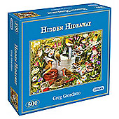 Games Hidden Hideaway 500 Pieces Jigsaw Puzzle