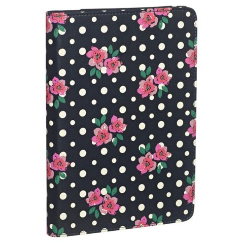 Accessorize Case/Stand for iPad Mini - Floral Polka Dot