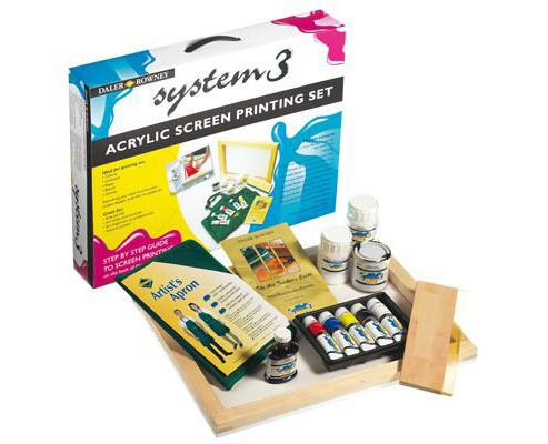 System 3 Screen Printing Kit