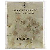 Wax Lyrical Made in England Fresh Linen Scented Drawer Sachet