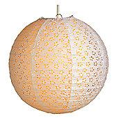 Loxton Lighting Eyelet Lantern (Set of 2) - Apricot