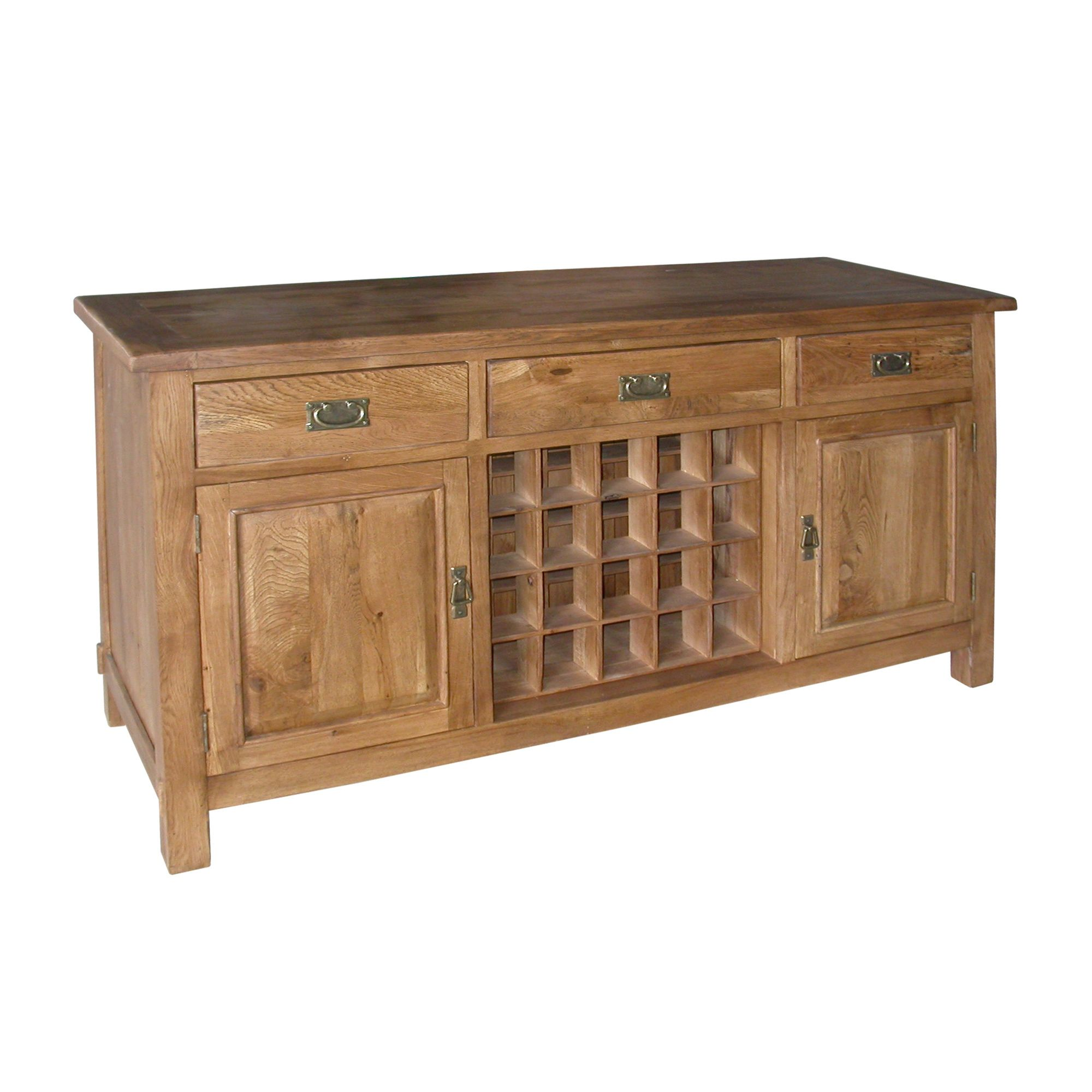 Wiseaction Riviera Medium Sideboard with Two Doors / Three Drawers at Tesco Direct