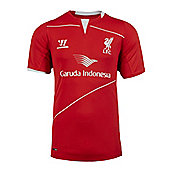 2014-15 Liverpool Warrior Training Shirt (Red) - Red