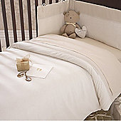 Izziwotnot Premium Gift Luxury Coverlet Bedding Bale (Cream)