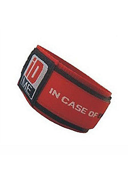 iDME Kids Safety iD Wristband Red