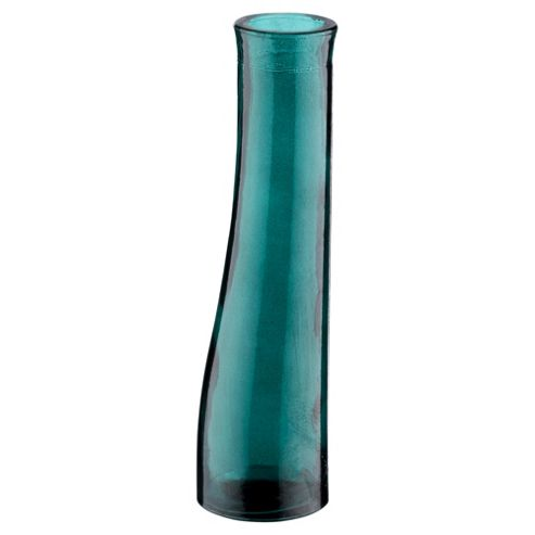 buy recycled bud vase turquoise from our vases bowls. Black Bedroom Furniture Sets. Home Design Ideas