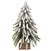Woodland Snowy Table Top Christmas Tree