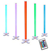 Remote Controlled RGB Colour Changing LED Light Stick