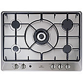 New World NWGHU701 Gas Hob in Stainless Steel