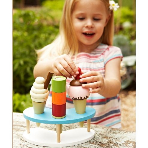 ELC Wooden Ice Cream Set