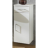 Posseik Aero 74 x 30cm Lower Wall Cabinet - White / Red