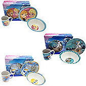 Disney Frozen 3 Piece Child's Ceramic Breakfast Set