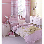 Catherine Lansfield Home Kids Cute Puppy Love Double Bed Quiltset Multi