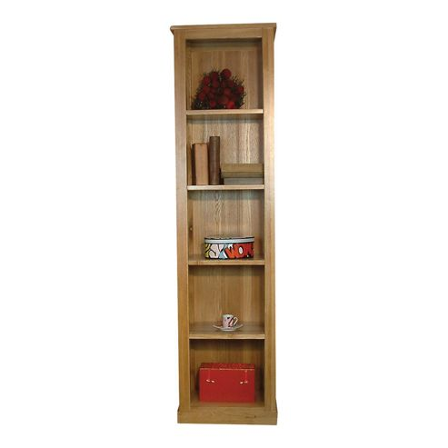 baumhaus mobel oak narrow bookcase baumhaus mobel solid oak