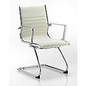 Maestro Ritz Cantilever Chair - White