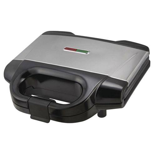 Tesco SM12 2 Slice Sandwich Toaster - Silver
