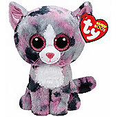 TY Beanie Boo Plush - Lindi the Cat 15cm