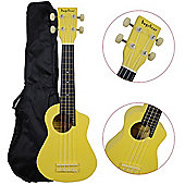 Bugs Gear Ukulele with Bag - Yellow