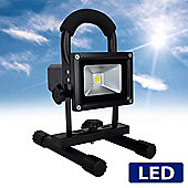 MiniSun Rechargeable 5w Daylight IP65 LED Floodlight with Stand